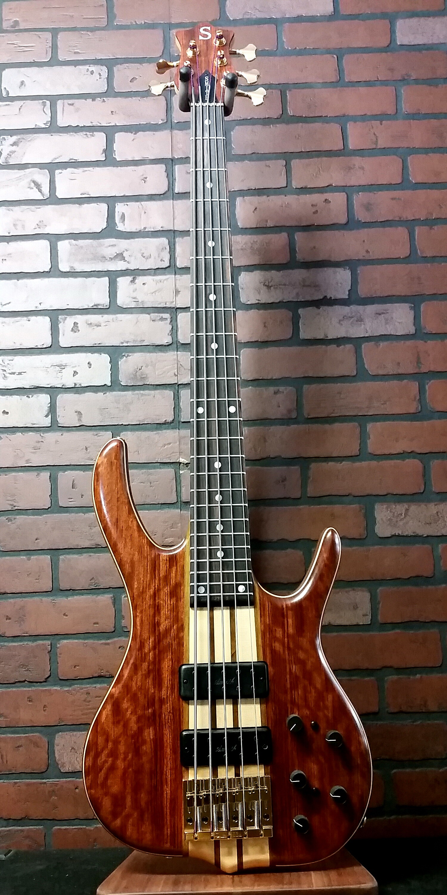 KEN SMITH BSR5GN 5 string bass