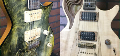 Universum Guitars Fibonacci Golden Sequence